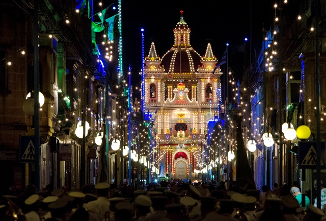 The history behind the Maltese Festa